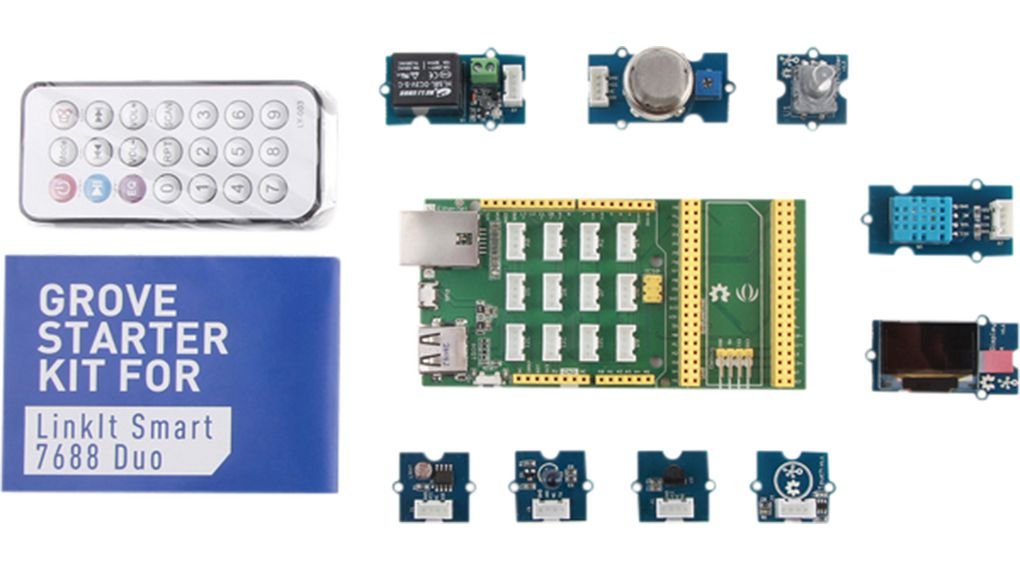Acquista Starter kit Grove per LinkIt 7688 Duo