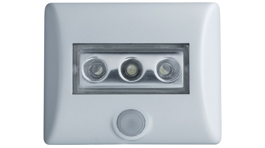 Plafoniera Led Sensore Movimento : Nightlux lampada led con sensore di movimento bianco osram